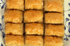 Baklava Fotos de Stock Royalty Free