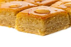 Baklava with almonds Stock Photography