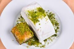 Baklava And Maras Ice Cream Stock Photography