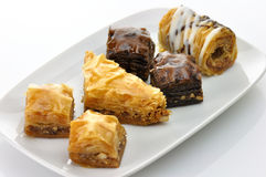 baklava assortment Royalty Free Stock Images