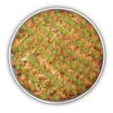 Baklava - Ausschnittspfad Lizenzfreies Stockbild