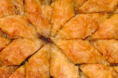 Baklava caseiro - pastelaria doce 04 do filo turco Imagem de Stock