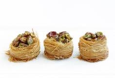 Baklava croustillante délicieuse Image stock
