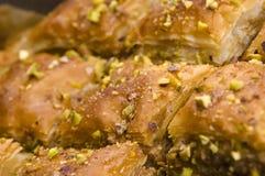 Baklava - cukierki tradycyjna pustynia Fotografia Stock