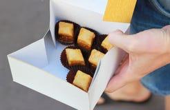 Baklava de la panadería imagenes de archivo
