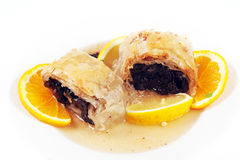 Baklava dessert Royalty Free Stock Photography