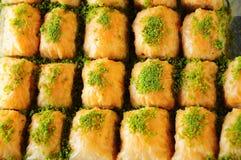 Baklava dessert Stock Image