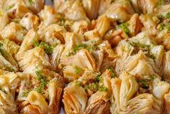Baklava - dessert est traditionnel Photographie stock libre de droits