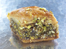 Baklava do Pistachio Fotos de Stock Royalty Free