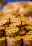 Baklava doce turco Foto de Stock Royalty Free