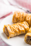Baklava dolce del dessert Fotografia Stock