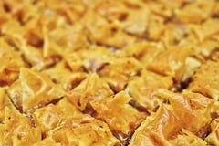 Baklava, dolce orientale delizioso immagine stock