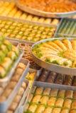 Baklava dolce turca Immagini Stock
