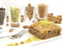 Baklava douce de dessert Images libres de droits