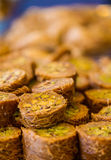 Baklava douce turque Photo libre de droits