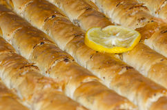 Baklava eastern sweet dessert Stock Photo