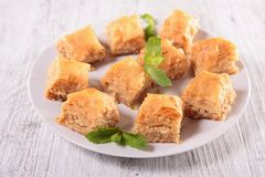 Baklava Royalty Free Stock Photography