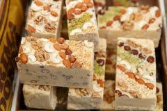 Baklava i inni cukierki wschodni Obraz Stock