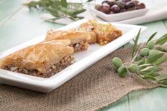 Baklava - Mediterranean sweets Stock Photos