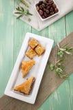 Baklava - Mediterranean sweets Stock Photo