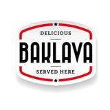 Baklava middle eastern cuisine Stock Photo