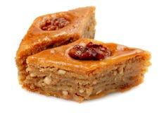 Baklava oriental de los dulces Imagen de archivo