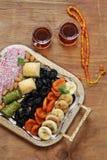 Baklava orientale dei dolci, loachum del rahat Immagini Stock Libere da Diritti