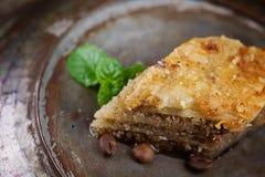 Baklava pastry dessert Stock Photography