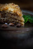 Baklava pastry dessert Royalty Free Stock Photo