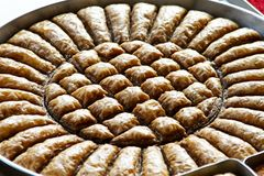 Baklava pie Royalty Free Stock Photos
