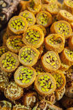 Baklava rolls Royalty Free Stock Images