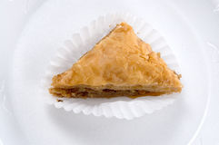 Baklava Section Royalty Free Stock Images