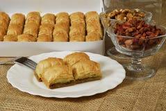 Baklava - sobremesa Imagens de Stock