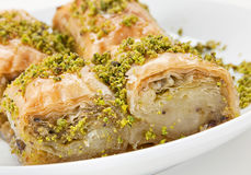 Baklava sweet dessert Royalty Free Stock Image