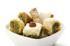 Baklava. Sweet Pastries made of layers Royalty Free Stock Image