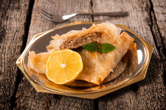 Baklava sweet Royalty Free Stock Image