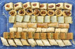 Baklava - traditional Arabic dessert Royalty Free Stock Image