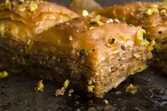 Baklava - traditional sweet desert Royalty Free Stock Images