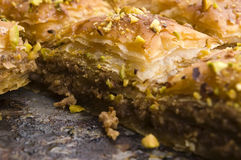 Baklava - traditional sweet desert Royalty Free Stock Photo
