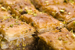 Baklava - traditional sweet desert Stock Image