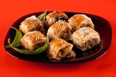 Baklava, traditional turkish dessert Stock Images