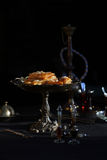 Baklava Traditional Turkish Dessert Stock Photography