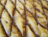 Baklava, tradycyjny midle wschodu cukierki Obraz Stock