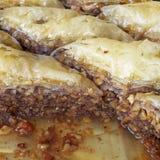 Baklava, tradycyjny midle wschodu cukierki Zdjęcie Royalty Free