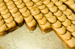 Baklava turca dolce Fotografia Stock