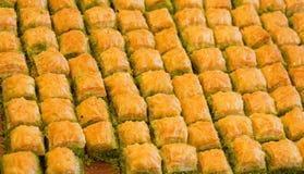 Baklava turco delicioso fotos de archivo