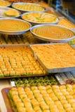 Baklava turco saboroso Imagem de Stock Royalty Free