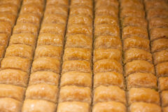 Baklava turkish delight Stock Images