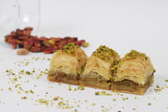 Baklava - turkish dessert Royalty Free Stock Images