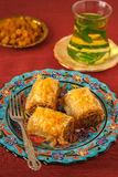 Baklava- turkish dessert Stock Image
